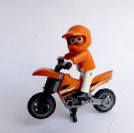 FIGURINE PLAYMOBIL MOTO CROSS  Boîte 4698 - Playmobil