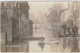 Paris.  Inondations De 1910.  Rue Des Pâtures. - De Overstroming Van 1910
