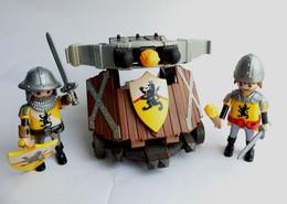 FIGURINES PLAYMOBIL MOYEN AGE BALISTE Equivalence De Boîte 4867 Soldats Médiévaux - Playmobil