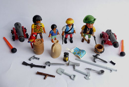 FIGURINES PLAYMOBIL PIRATES ET ACCESSOIRES  Boîte 5135 - Playmobil