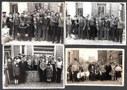 Heist Heyst -  Lot 4 Foto's De Lustige Schutters (Handboog Maatschappij Tir à L'Arc) - Heist