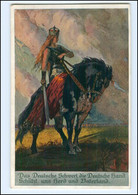 XX15006/ Deutsche Kriegerkarte Das Deutsche Schwert,   Germania 1916 AK WK1 - Weltkrieg 1914-18