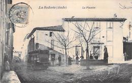11 - LA REDORTE :  La Placette ( Animation Attelage ) - CPA Village ( 1.120 H )  - Aude - Autres Communes