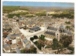 35-JANZE- Vue Aérienne, Eglise Et Les Halles... - Otros Municipios