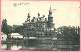 C.P. Roucourt  =   Château  D' ARONDEAU - Péruwelz