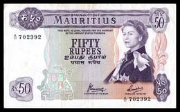 MAURICE - 50 Rupees - ND (1968) - P 33c - TTB - Mauritius