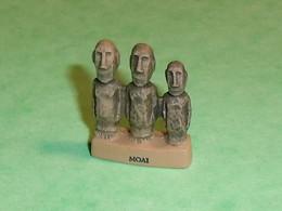 """Fèves / Fève / Autres / Divers : Statuette , Moai   """" Mat """"  T147 - Andere"""