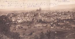Clermont Ferrand Rare Vue Panoramique 3 Volets - Clermont Ferrand