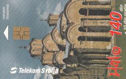 PHONE CARD SERBIA (E52.42.2 - Joegoslavië