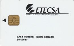 PHONE CARD PROTOTIPO URMET CUBA (E51.5.2 - Cuba