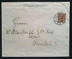 Österreich 1908, Privater Umschlag 20 Heller WIEN Nach Breslau - Covers & Documents