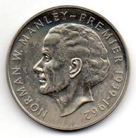 JAMAICA, 5 Dollars, Copper-Nickel, Year 1975, KM #62 - Jamaica