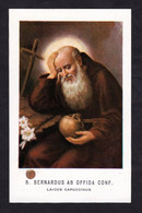 B. BERNARDO DA OFFIDA  -  CON RELIQUIA - Mm. 67 X 107 - Religione & Esoterismo