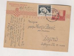 CROATIA WW II 1944 OSIJEK  Postal Stationery - Croatie