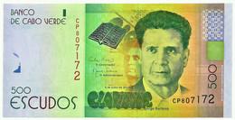 CAPE VERDE - 500 ESCUDOS - 05.07.2014 - Pick 72 - Unc. - Serie CP - Jorge Barbosa - Cape Verde