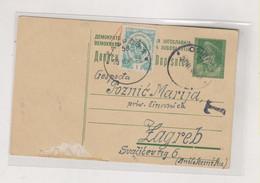 YUGOSLAVIA, 1946 OSIJEK Postal Stationery Postage Due - Lettres & Documents