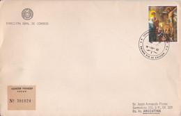 ALBRECHT DURER, CHRIST EN CROIX, ON THE CROSS. PARAGUAY 1982 FDC ENVELOPPE.- LILHU - Religie