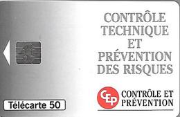 CARTE²-PUCE-PRIVEE-PUBLIC- 50U-SO5-04/94-EN927-CEP-N° Série A 44011490-UTILISE-TBE- - 50 Unità