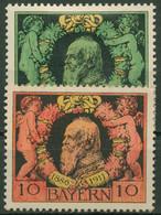 Bayern 1911 25 Jahre Regentschaft Von Prinzregent Luitpold 92/93 A Mit Falz - Bavaria