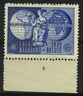 België 812 ** - Plaatnummer 4 - ....-1960