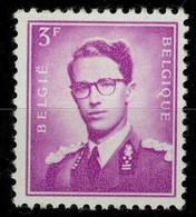 België R22 ** - Koning Boudewijn 3F Lila - Rolzegel - MET Nummer - AVEC Numéro - Francobolli In Bobina