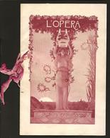 1905 Programme Théâtre National De L'Opéra Gala Honneur ROI Rei PORTUGAL D.Carlos I. Illustration AUGUSTE GORGUET France - Programas