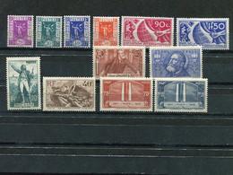 France  #309-20 Mint  VF   - Lakeshore Philatelics - 1945-47 Ceres Of Mazelin