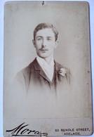 ADÉLAÏDE AUSTRALIE - Photographie CDV GF Cabinet - Beau Portrait Jeune Homme - 1894 - BE - Old (before 1900)