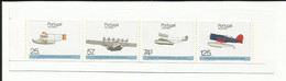Portugal 1987 - Azores In Aviation History Booklet MNH - Booklets