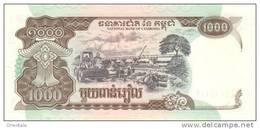 CAMBODIA P. 51a 1000 R 1999 UNC - Kambodscha