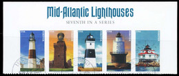 Etats-Unis / United States (Scott No.5625a - Lighthouses) (o) Strip - Used Stamps