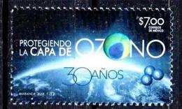 Mexico 2017. Protegiendo La Capa De Ozono.  Protecting The Ozone Layer, SCIENCE, HEALTH MNH - Mexiko