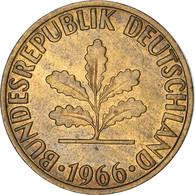 Monnaie, République Fédérale Allemande, 2 Pfennig, 1966, Karlsruhe, TTB+ - 2 Pfennig