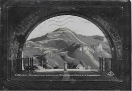 AK 0781  Grossglockner Hochalpenstrasse - Ausblick Vom Mittertörltunnel Auf Edelweißspitze Um 1937 - Heiligenblut