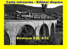 BVA 600-03 - Train - Loco 030+030 T N° 406 Sur Le Viaduc - SAINT-PRIX - Ardèche - CFD Vivarais - Otros Municipios