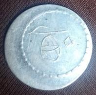 Egypt , Rare Vintage Casino Token ( Byzantine Casino) , Value 50 Piastres, Agouz - Casino