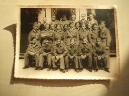 Grande  Photo Anciennes MILITAIRES A IDENTIFIER - Guerra, Militares
