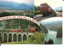 Chemin De Fer - Train Touristique De La Mure (38) - Trains
