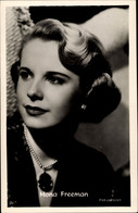 CPA Schauspielerin Mona Freeman, Portrait, Schmuck - Acteurs
