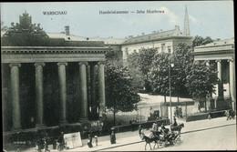 CPA Warszawa Warschau Polen, Handelskammer, Jzba Skarbowa - Pologne