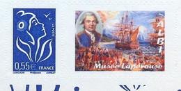 YT 3802D - Marianne De Lamouche Personnalisée - Lapérouse - Bateau L'Astrolabe - Personnalisés
