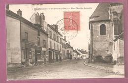 Cpa Nanteuil Le Haudouin Rue Charles Lemaire - édition BF - Nanteuil-le-Haudouin