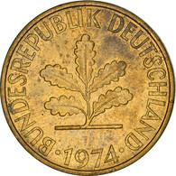 Monnaie, République Fédérale Allemande, 10 Pfennig, 1974, Karlsruhe, TTB - 10 Pfennig