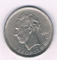 5 FRANK 1936 VL BELGIE /6861/ - 06. 5 Francs