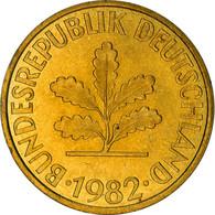 Monnaie, République Fédérale Allemande, 10 Pfennig, 1982, Hambourg, TTB - 10 Pfennig
