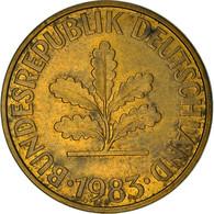 Monnaie, République Fédérale Allemande, 10 Pfennig, 1983, Stuttgart, TB+ - 10 Pfennig