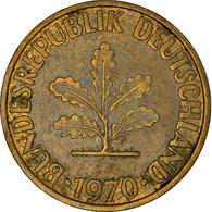 Monnaie, République Fédérale Allemande, 10 Pfennig, 1970, Karlsruhe, TTB - 10 Pfennig