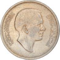 Monnaie, Jordan, Hussein, 100 Fils, Dirham, 1977/AH1397, TB+, Copper-nickel - Jordan