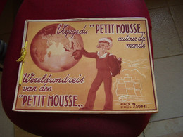 Album Chromos Images Vignettes  Chocolat Petit Mousse *** Voyage Du Petit Mousse Autour Du Monde *** - Sammelbilderalben & Katalogue