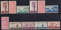 Colonie Egeo Mostra Triennale 1940 Serie Completa Sass.111/A55 MNH** Cv 60 - Egée